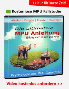 MPU Vorbereitung, Fallstudie